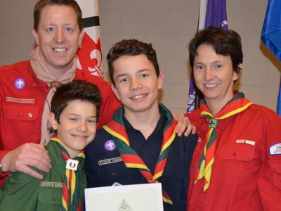 Chinook Council - Scouts Canada Scouter Awards 2016