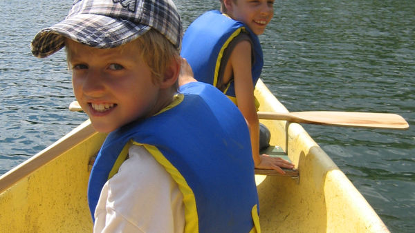 Chinook Council - Scouts Canada Summer Camp canoeing