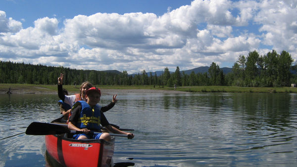 Chinook Council - Scouts Canada Canoeing at Scouts Camp