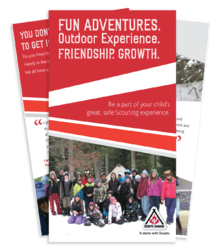 Chinook Council - Scouts Canada Volunteer (Non-Parents) Brochure