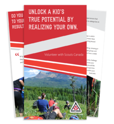 Chinook Council - Scouts Canada Volunteer (Parents) Brochure